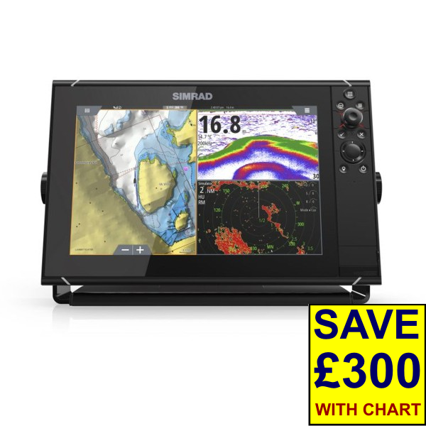 Simrad NSS12 evo3 12 Inch Display With World Basemap