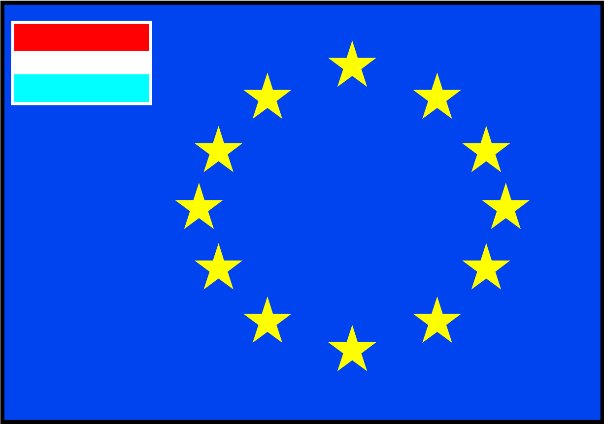 Talamex Europ Flag Dutch 20X30