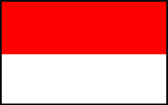 Talamex Red White Flag 70X100