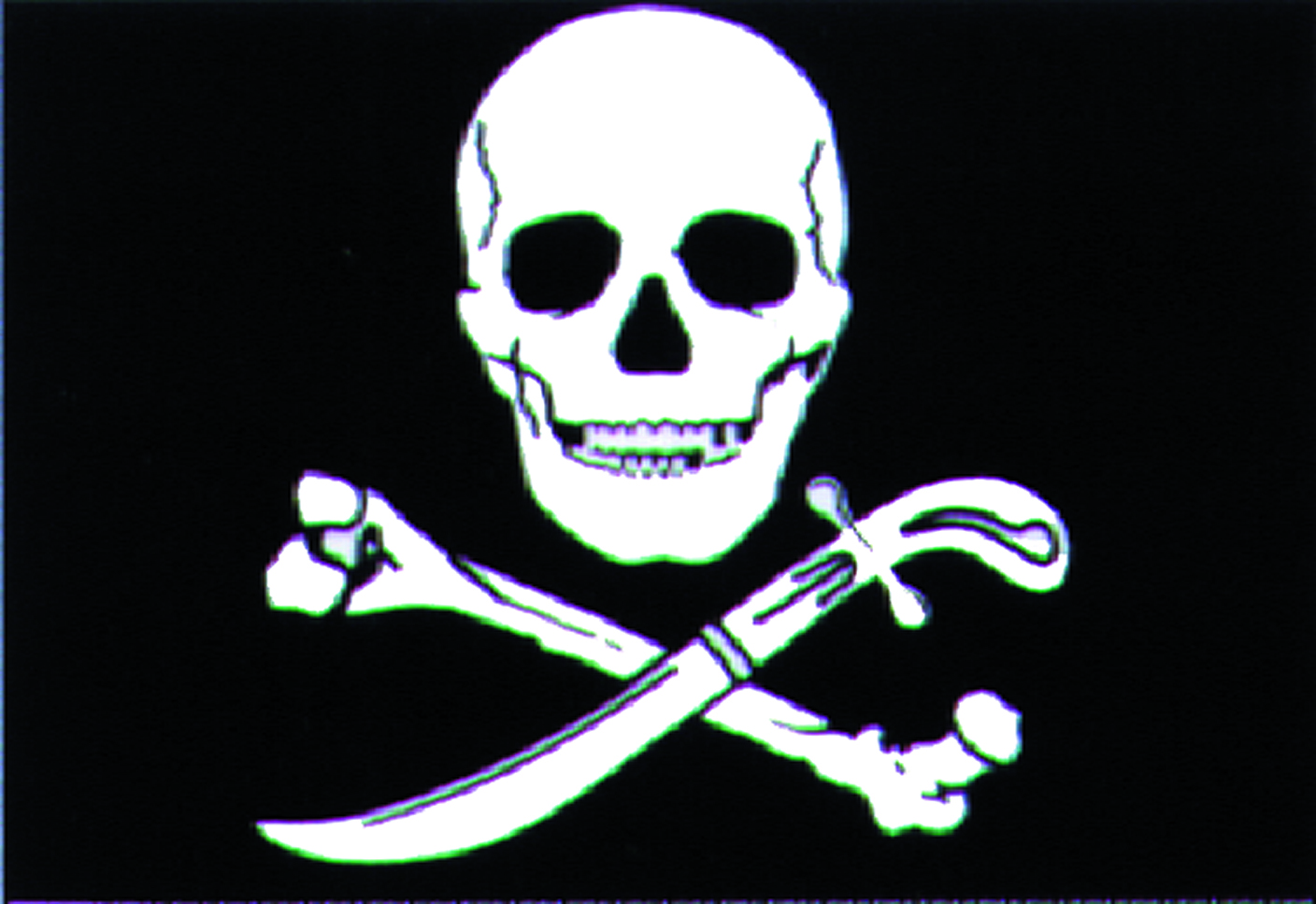 Talamex Pirate Flag 30X45