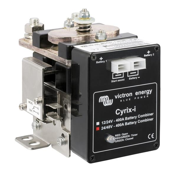 Victron Energy Cyrix-i 24/48v - 400a Intelligent Battery Combiner
