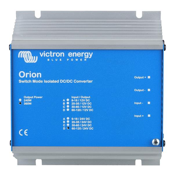 Victron Energy Orion 48/24 - 360w Dc/dc Converter With Galvanic Isolation