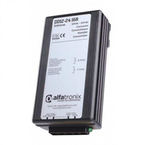 Alfatronix Dd12-24 168 Converter Dc To Dc Multi Selection - 12vdc To 24vdc 7a Continuous 9a Intermittent