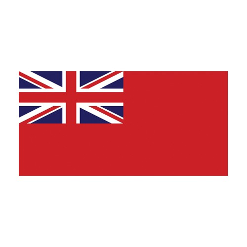 Printed Red Ensign Flag 1 Yard (46 x 91.5 cm) Printed