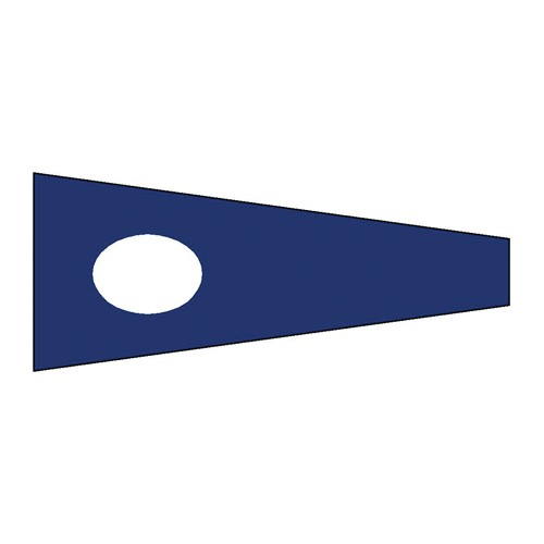 Flag International Code Signal 2 (30 x 45cm)