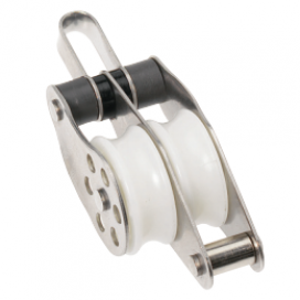 Barton Stainless Block Double Fix Eye/Bkt 35mm