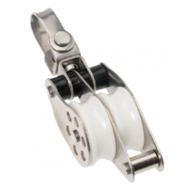 Barton Stainless Ball Bearing Block Double Swivel/Bkt 30mm