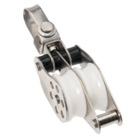 Barton Stainless Ball Bearing Block Double Swivel & Becket 35mm