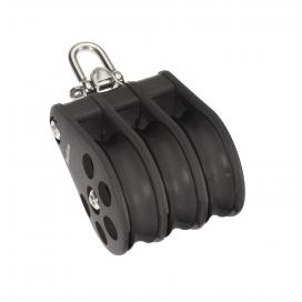 Barton Size 6 Ball Bearing Block Triple Reverse Shackle