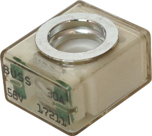 Blue Sea Terminal Fuse 30a Lt Blue