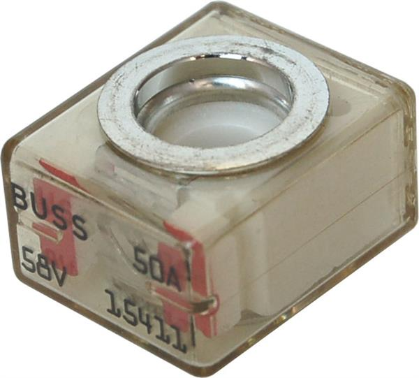 Blue Sea Terminal Fuse 50a  Red