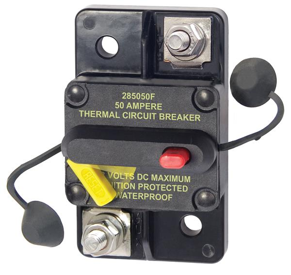 Blue Sea 285  Surface  Mount Circuit Breaker 50a