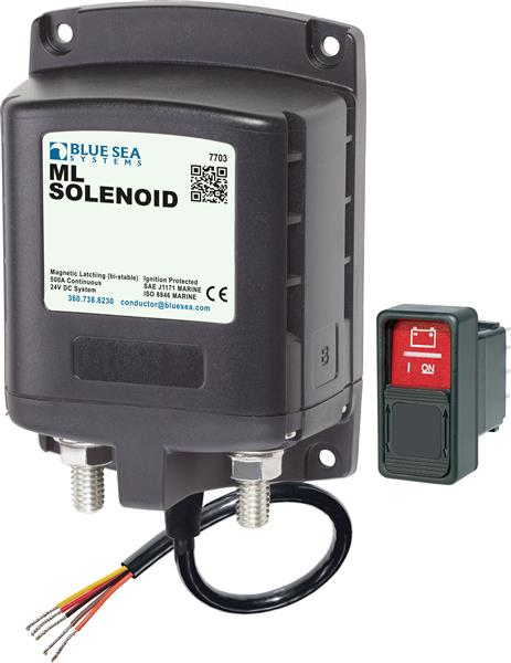 Blue Sea Ml Solenoid Switch 24v