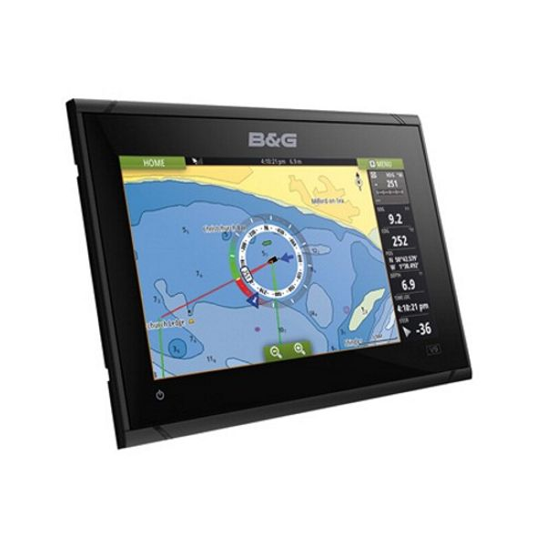 B&G Vulcan 9 FS 9 Inch Multi-Touch Chartplotter with Built In Forward Looking Sonar - No Transducer Supplied