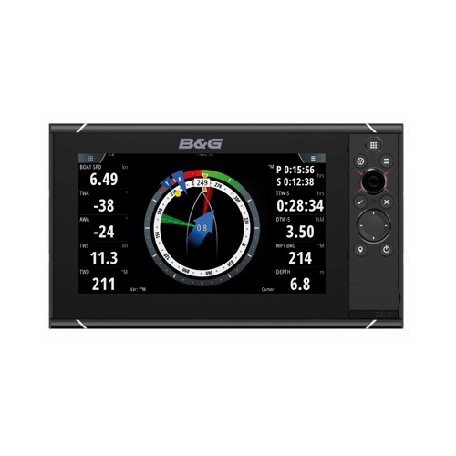 B&G ZEUS³ 9 Inch Multi-function Display With World Wide Base Map