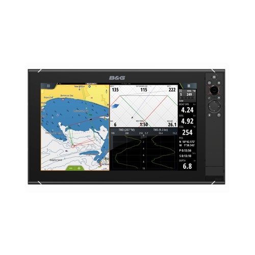 B&G ZEUS³ 16 Inch Multi-function Display With World Wide Base Map