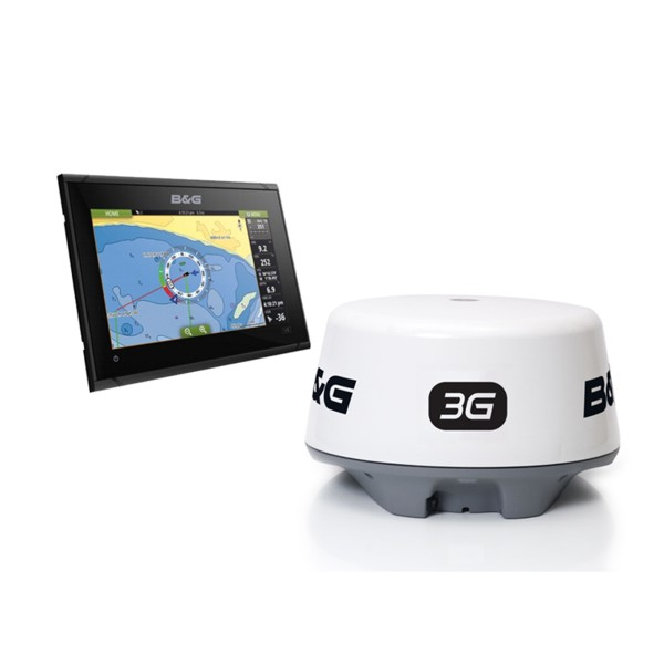 B&G Vulcan 9 FS 9 Inch Display With 3G Radar Bundle Pack