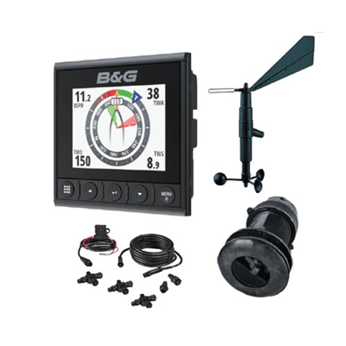 B&G Triton 2 Speed / Depth / Wind Pack With New IDST-810 Transducer