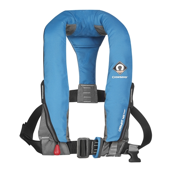 Crewsaver Crewfit 165N Sport - Automatic With Harness - Blue