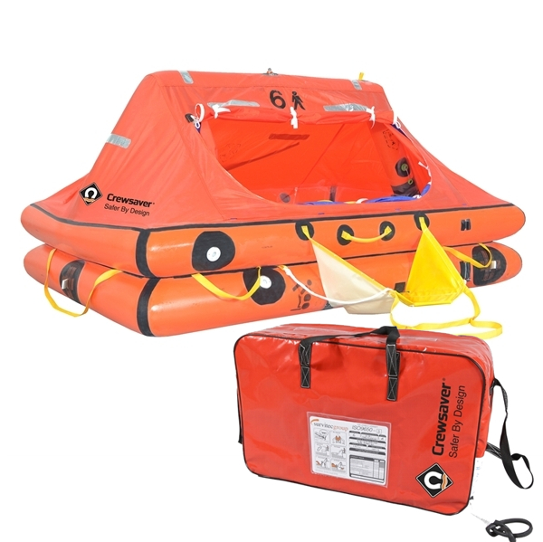 Crewsaver ISO Liferaft under 24hr - 6 Man Valise