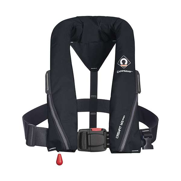 Crewsaver Crewfit 165N Sport - Automatic With Harness - Black