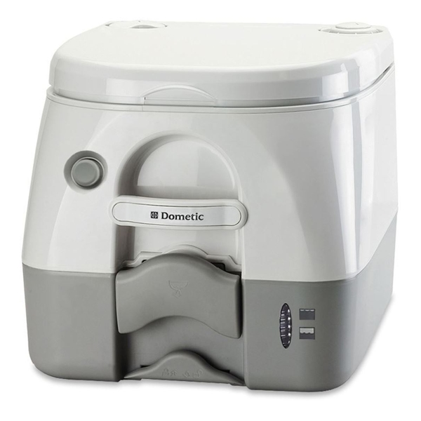 Dometic 972 Portable Toilet White / Grey