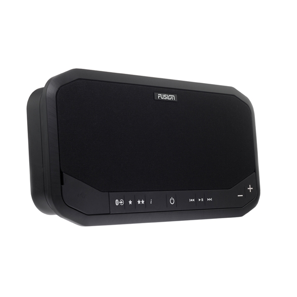 Fusion PS-A302B Panel Stereo AM/FM/BT/USB/Aux/LineOut - Black
