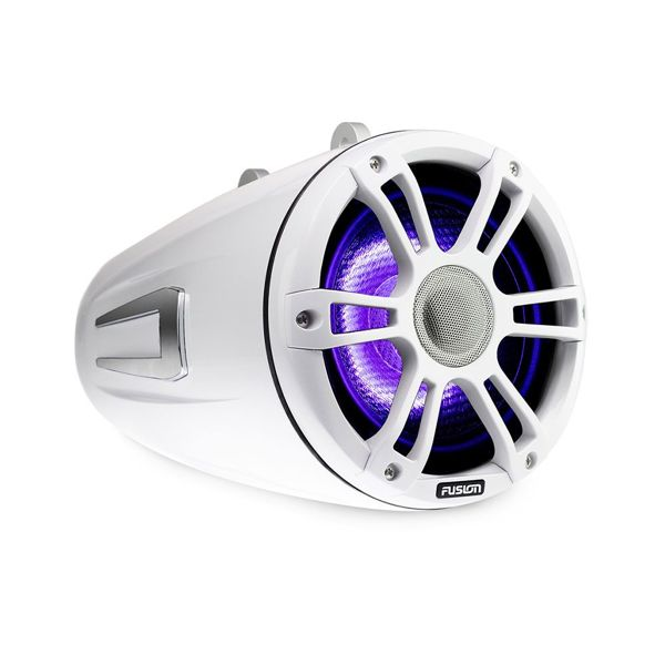 Fusion 230W 6.5 Inch Signature Wake Tower Speakers - Sports White