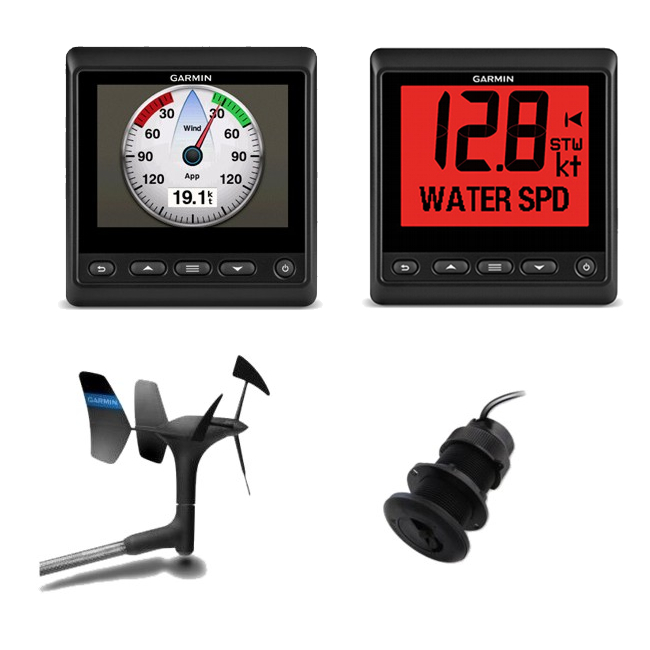 Garmin GMI 20 & GNX 20 Instruments plus gWind & DST800 Depth / Temp / Speed Txd (52)