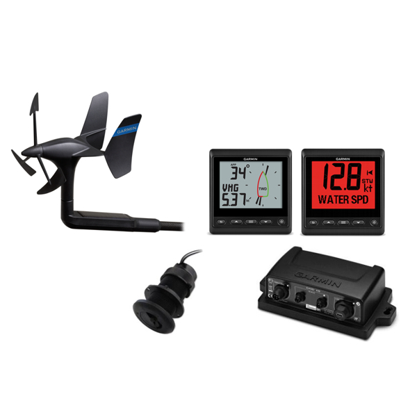 Garmin GNX Wired Sail Instrument Pack (52) With New DST-810 Transducer