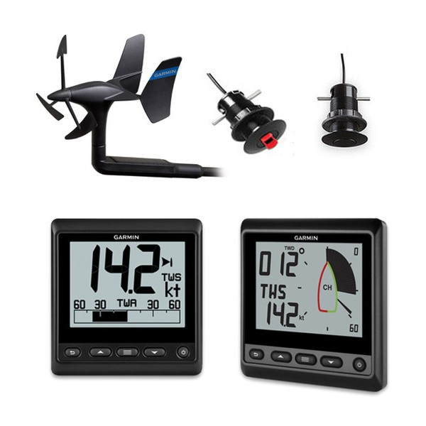 Garmin GNX Wireless Sail Instrument Pack With GDT 43 Thru-Hull Transducer