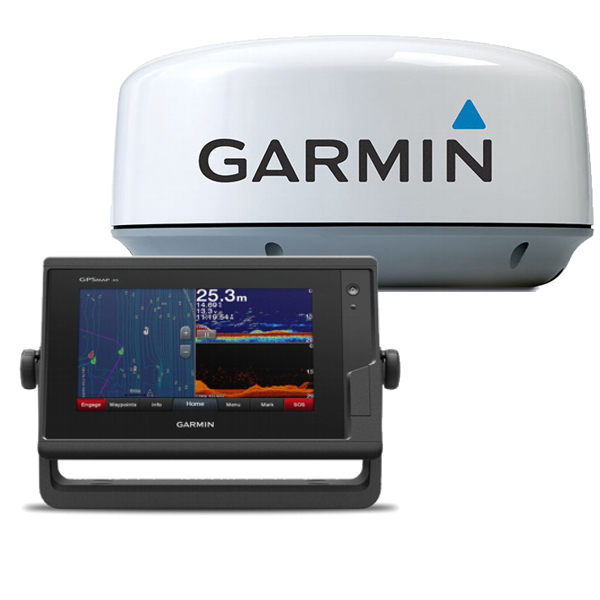 Garmin GPSMAP 722xs With GMR18HD+ Radome & 15m Cable