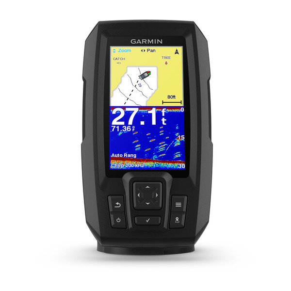Garmin Striker PLUS 4 Fishfinder with Traditional TM Transducer