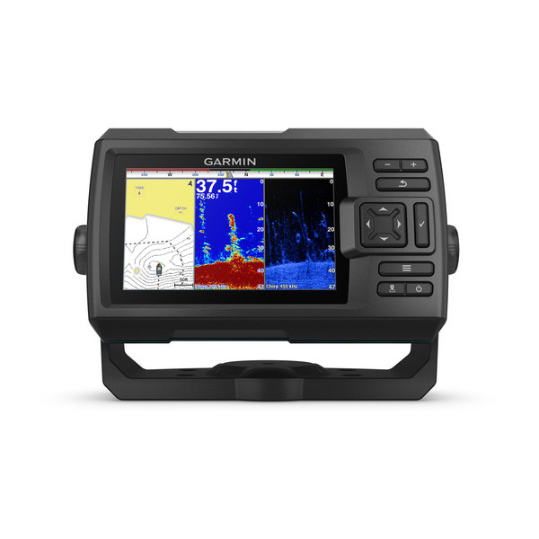 Garmin Striker PLUS 5cv Fishfinder ClearVu - No Transducer Supplied