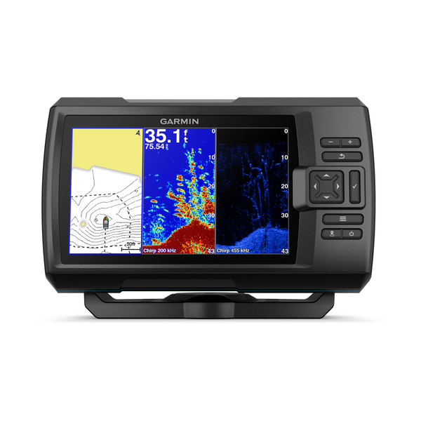 Garmin Striker PLUS 7cv Fishfinder with ClearVu TM Transducer (GT20-TM)