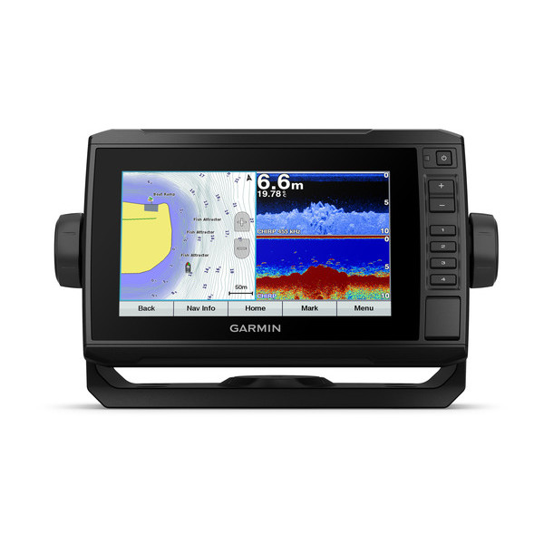 Garmin Echomap PLUS 75cv Combi Display With UK Charts (No Transducer)