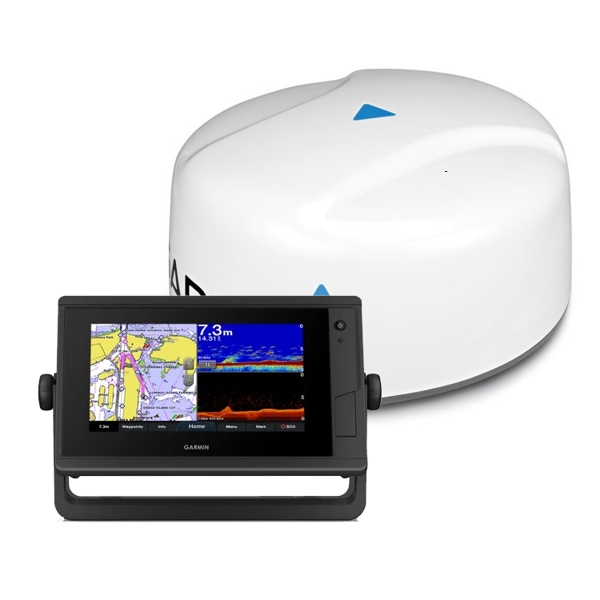 Garmin GPSMAP 722xs Plus And GMR18 HD+ Radar Bundle