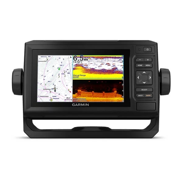 Garmin Echomap 65cv UHD With UK & Ireland BlueChart G3
