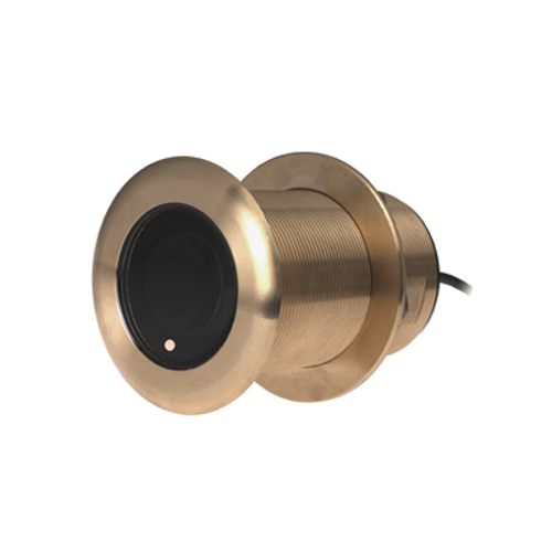Garmin Bronze Thru-hull Transducer with Depth & Temperature (20° tilt. 8-pin) - Airmar B75H