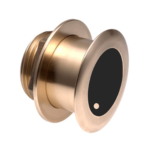 Garmin Bronze Tilted Thru-hull Transducer with Depth & Temp (20° tilt - 8-pin) - Airmar B175H