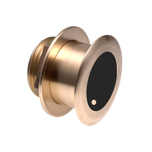Garmin Bronze Tilted Thru-hull Transducer with Depth & Temperature (20° tilt - 8-pin) - Airmar B175M