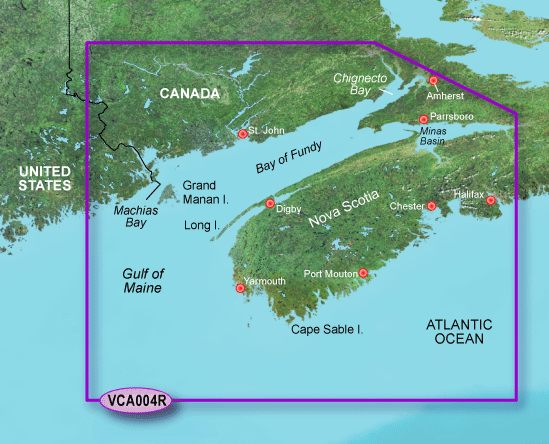 Garmin G3 Vision Regular - Vca004r - Bay Of Fundy