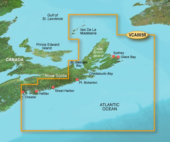 Garmin G3 Vision Regular - Vca005r - Halifax To Cape Breton