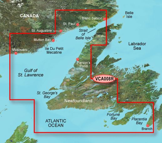 Garmin G3 Vision Regular - Vca008r - Newfoundland West