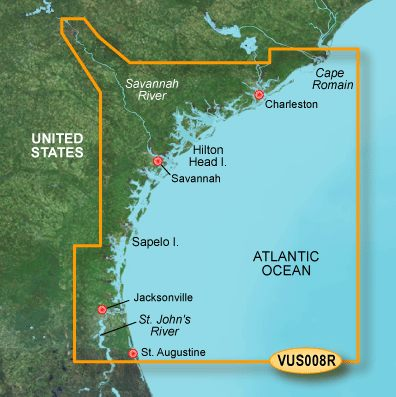 Garmin G3 Vision Regular - Vus008r - Charleston To Jacksonville