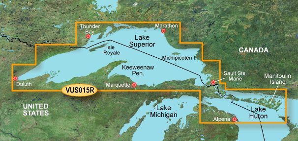 Garmin G3 Vision Regular - Vus015r - Lake Superior