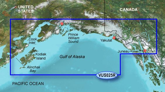Garmin G3 Vision Regular - Vus025r - Anchorage To Juneau
