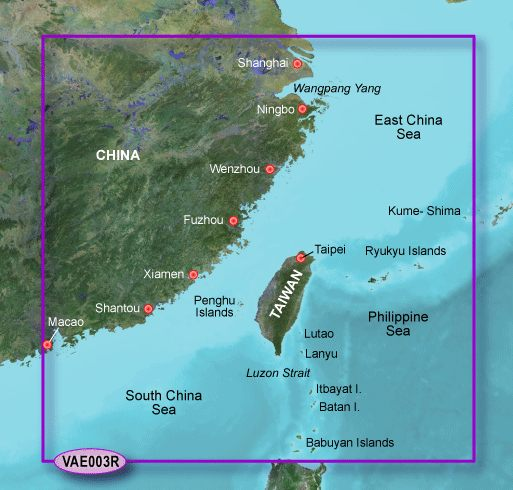 Garmin G3 Vision Regular - Vae004r - Hong Kong/south China Sea