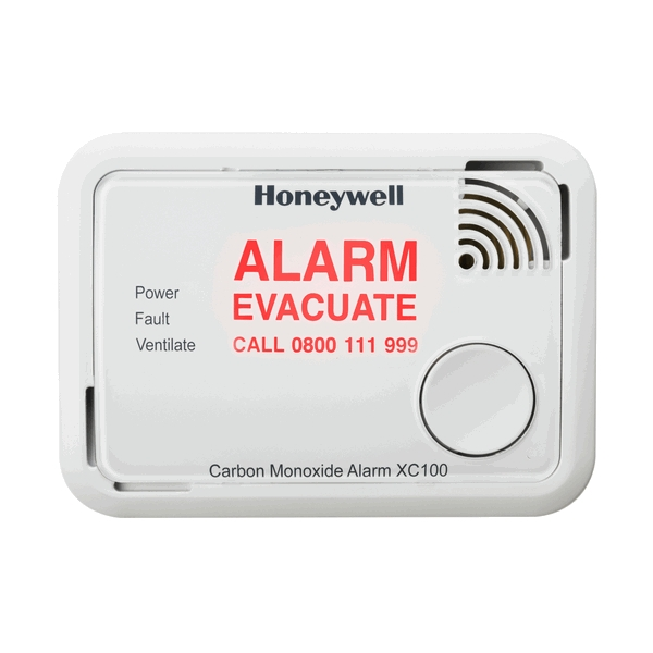 Honeywell XC100EN Battery Operated Carbon Monoxide Alarm