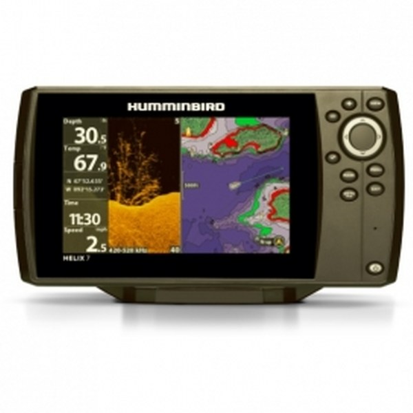 Lowrance Elite-7 Ti2 With Active Imaging 3-in-1 Transom
